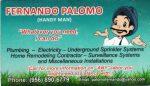 Ferny Palomo Handyman Services