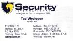 Security International – Tad Wychopen