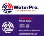 Water Pro Constructors